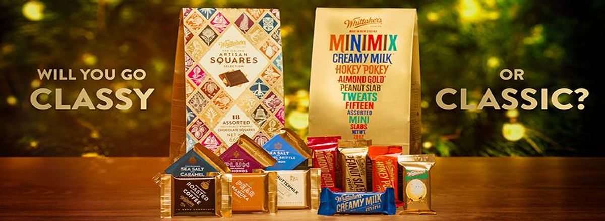 Whittakers Minimix and Artisan Squares