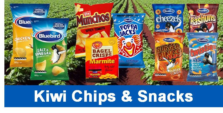 Kiwi Chips and Snacks