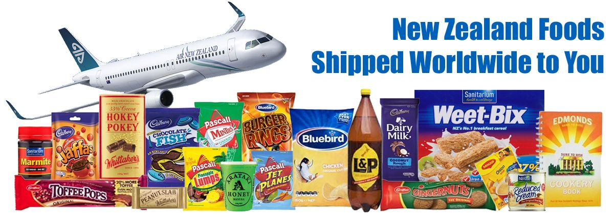 Kiwi Corner Dairy - New Zealand Foods Shipped Worldwide