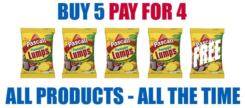 Buy 5 Pay for 4